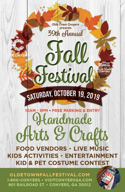 Date set for Olde Town Conyers' 39th Fall Festival