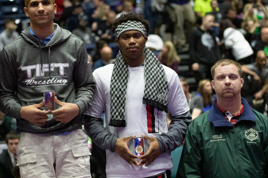 Rockdale County's Anderson stunned in 170-pound finals at wrestling state tradtionals