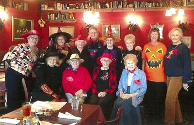 Red Hat Sophisticates celebrate Halloween