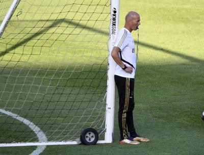 Soccer: Real Madrid Practice