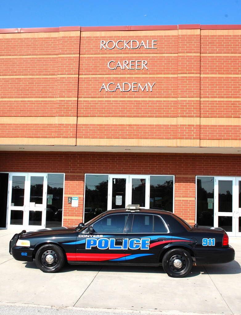 Conyers police donate car to rockdale career academy local news rockdalenewtoncitizen com