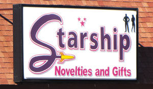 Starship Adult Toy Store
