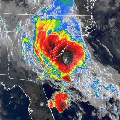 Bertha forms off the coast of the Carolinas and will make landfall Wednesday
