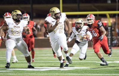 NOLE FLY ZONE: Salem conquers Woodward Academy 22-14 on road