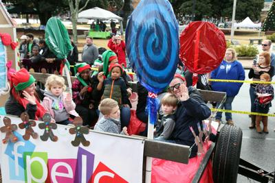 Covington Lions Club Christmas Parade worth the wait