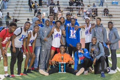 Heritage boys and girls track finish first NewRock championship