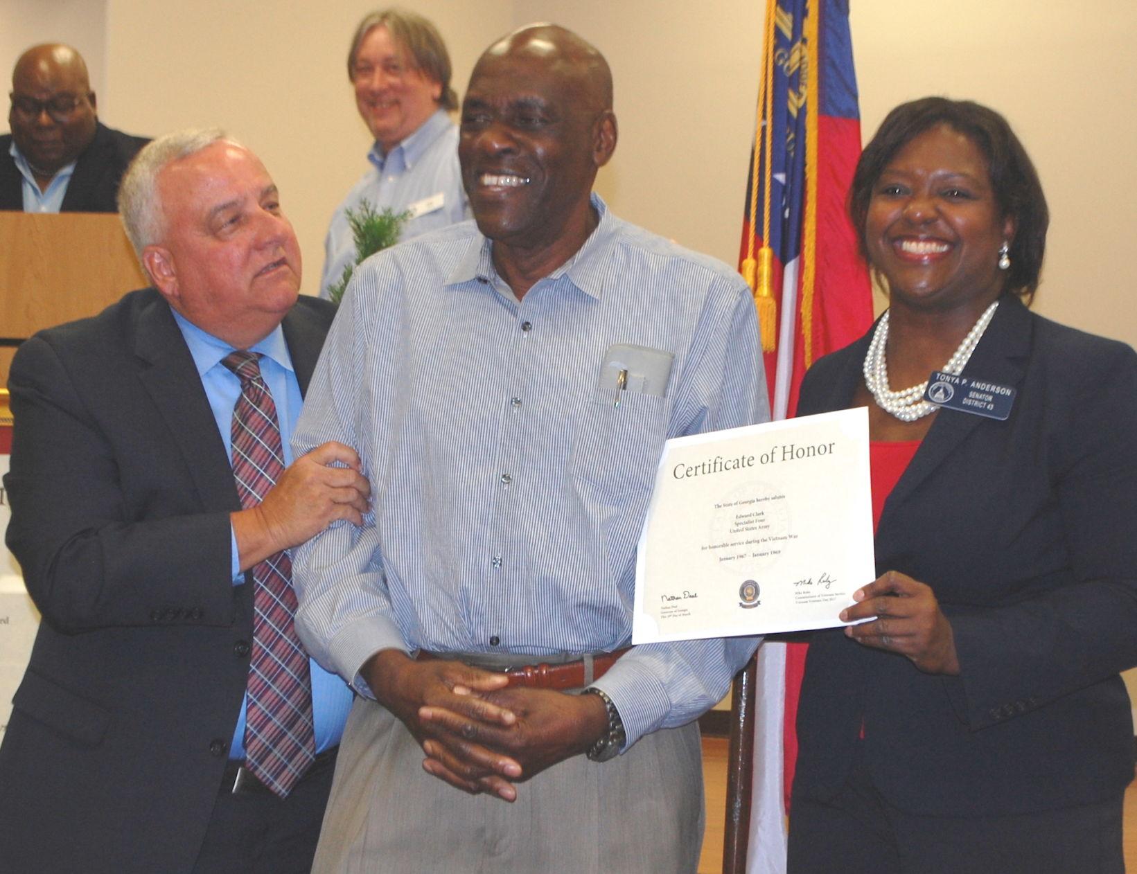 Vietnam veterans in Newton honored at ceremony