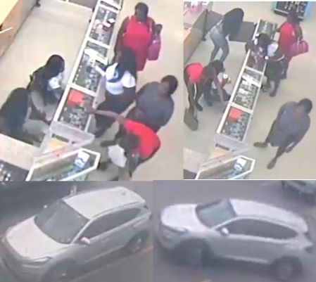 Conyers Police looking for six beauty-item shoplifters