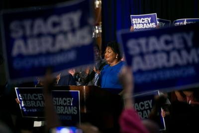 Stacey Abrams meets with film industry, argues against boycott of Georgia over abortion law