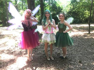 Fairies fly and gnomes roam at upcoming Chimney Park festival