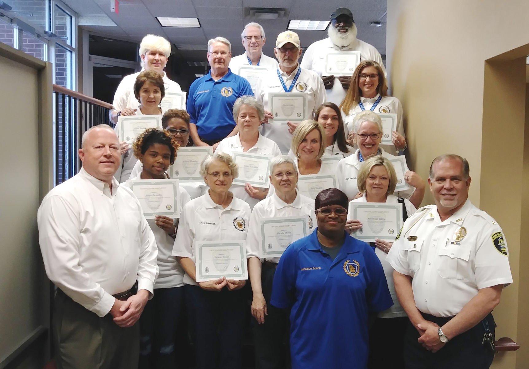 Covington Citizens Police Academy graduates 10th class