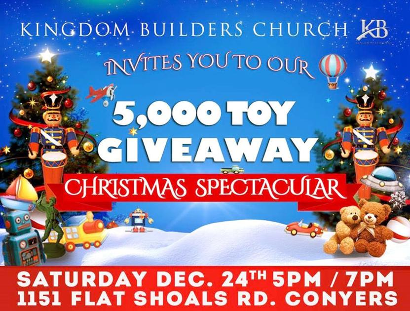 2020 Annual Christmas Toy Giveaway Covinton Ga Kingdom Builders plans huge toy giveaway | Local News