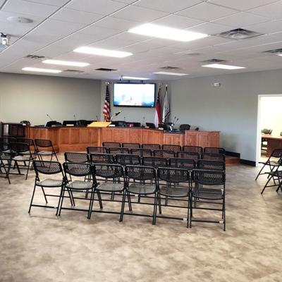Covington Council meeting in new chambers tonight at 2116 Stallings Street