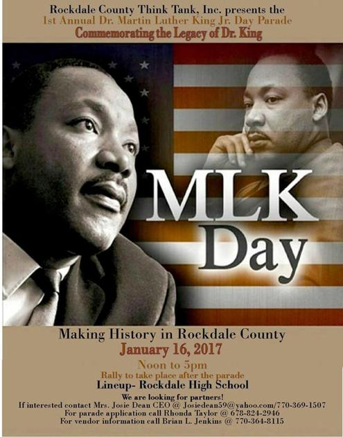 martin luther king day flyer