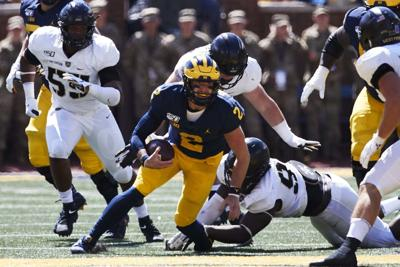 NCAA Football: Army at Michigan