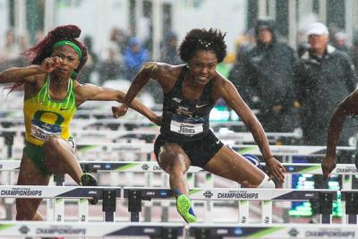 Rockdale alum Cortney Jones finishes 3rd in 100-meter hurdles at National Championships