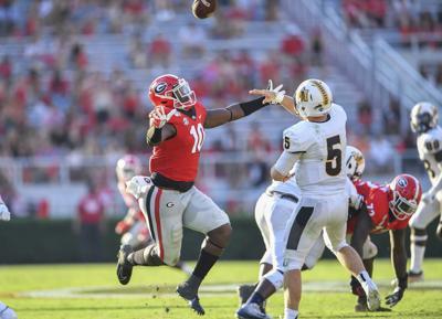 NCAA Football: Murray State at Georgia