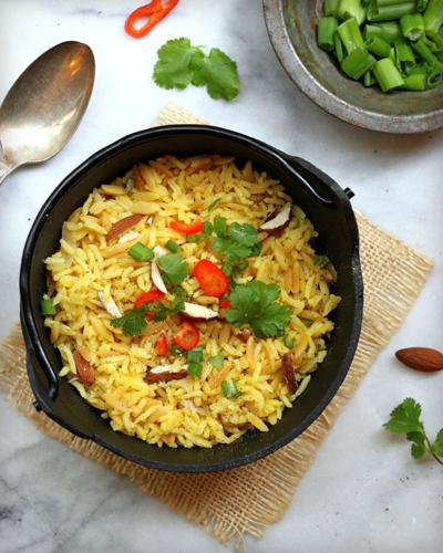 Homemade Rice Pilaf