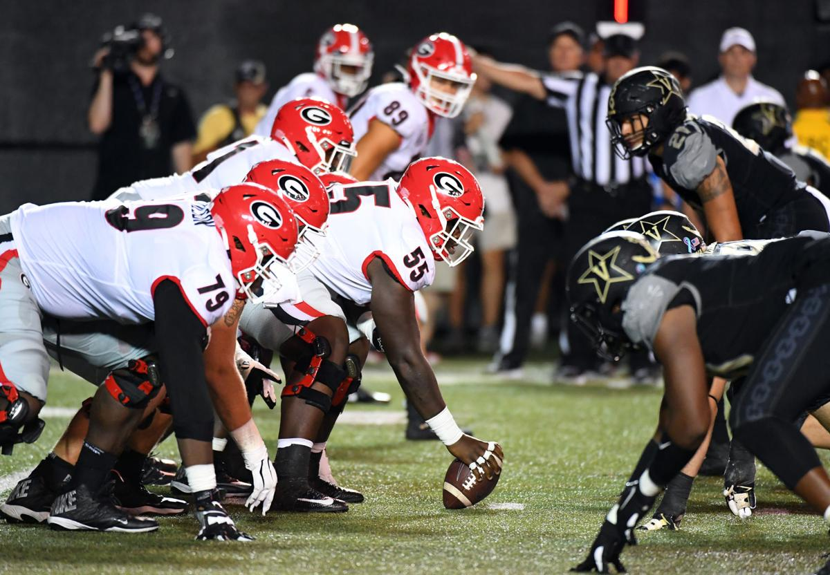 NCAA Football: Georgia at Vanderbilt