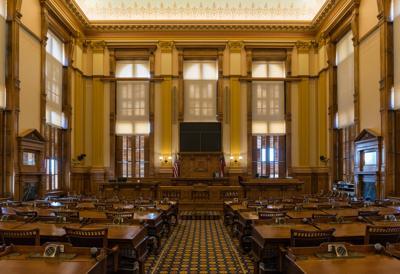Senate Chamber, Georgia State Capitol, Atlanta