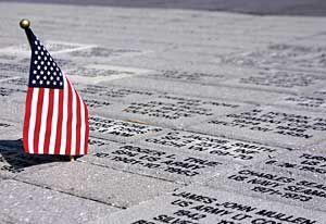 Memorial remembers war veterans