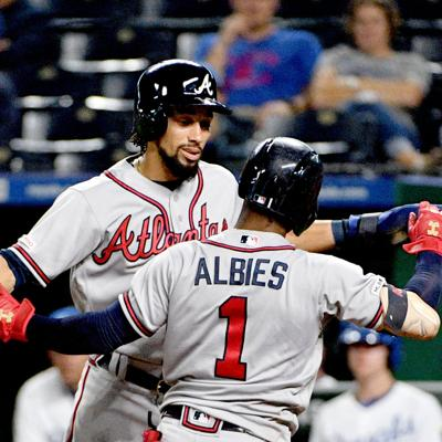 MLB: Atlanta Braves at Kansas City Royals