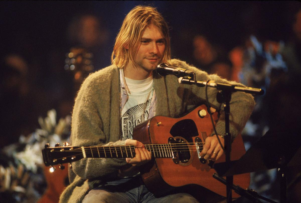 Kurt Cobain's 'MTV Unplugged' guitar could sell for $1 million
