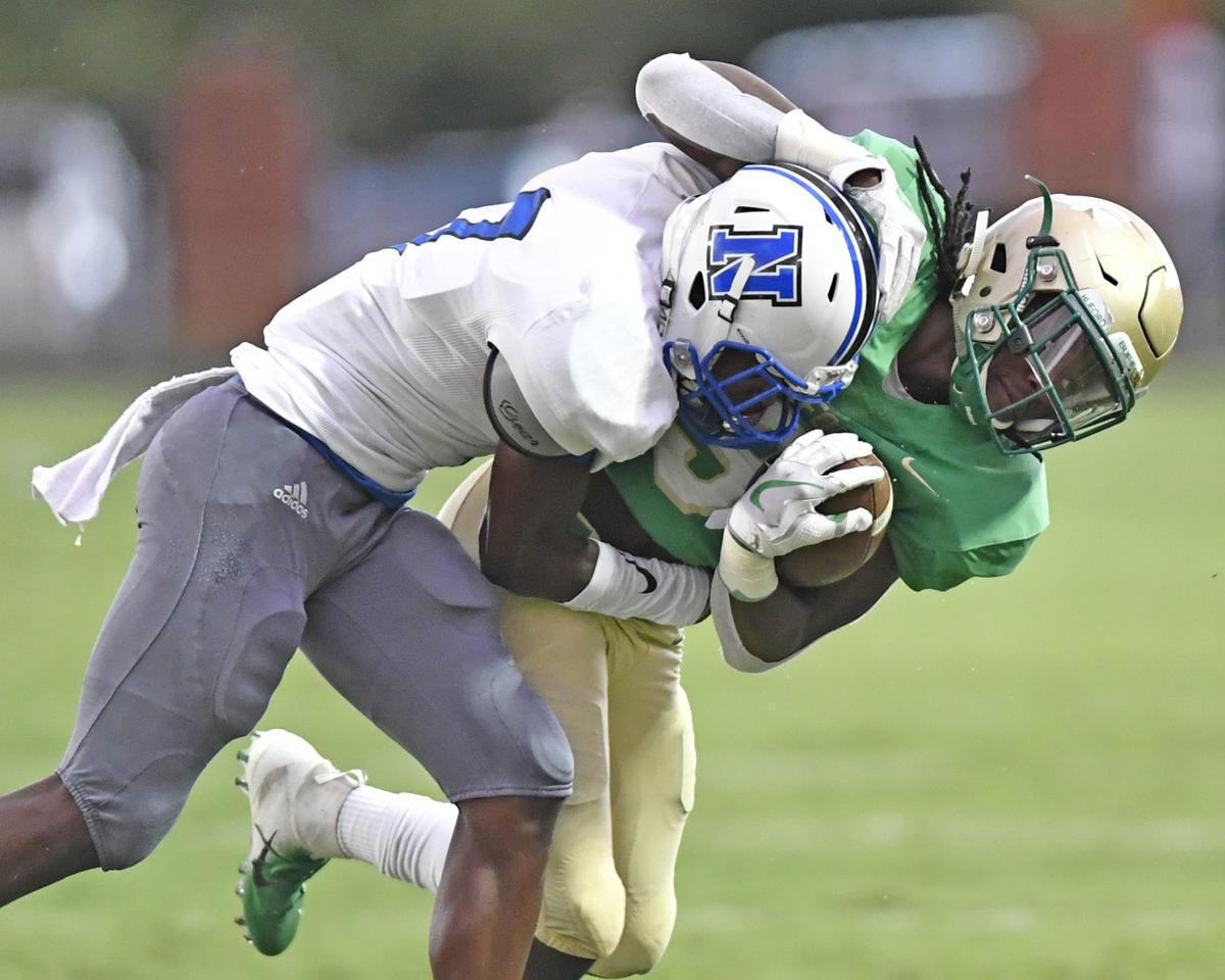 Buford too much for Newton as Rams falls 54-27 on the road