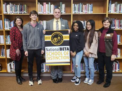 Eastside's Beta Chapter earns national recognition