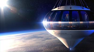 On sale: $125,000 balloon trips to the edge of space