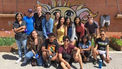 Oxford College sociology students visit Spain