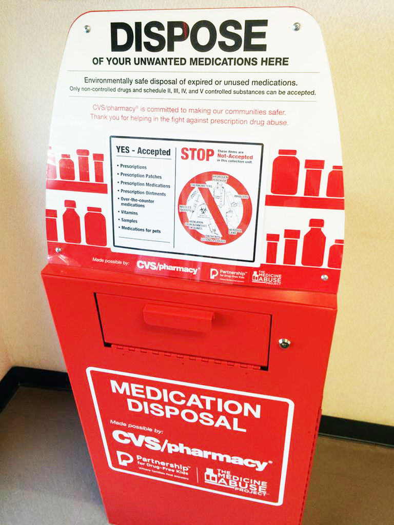 conyers police department partners with cvs to place drug disposal