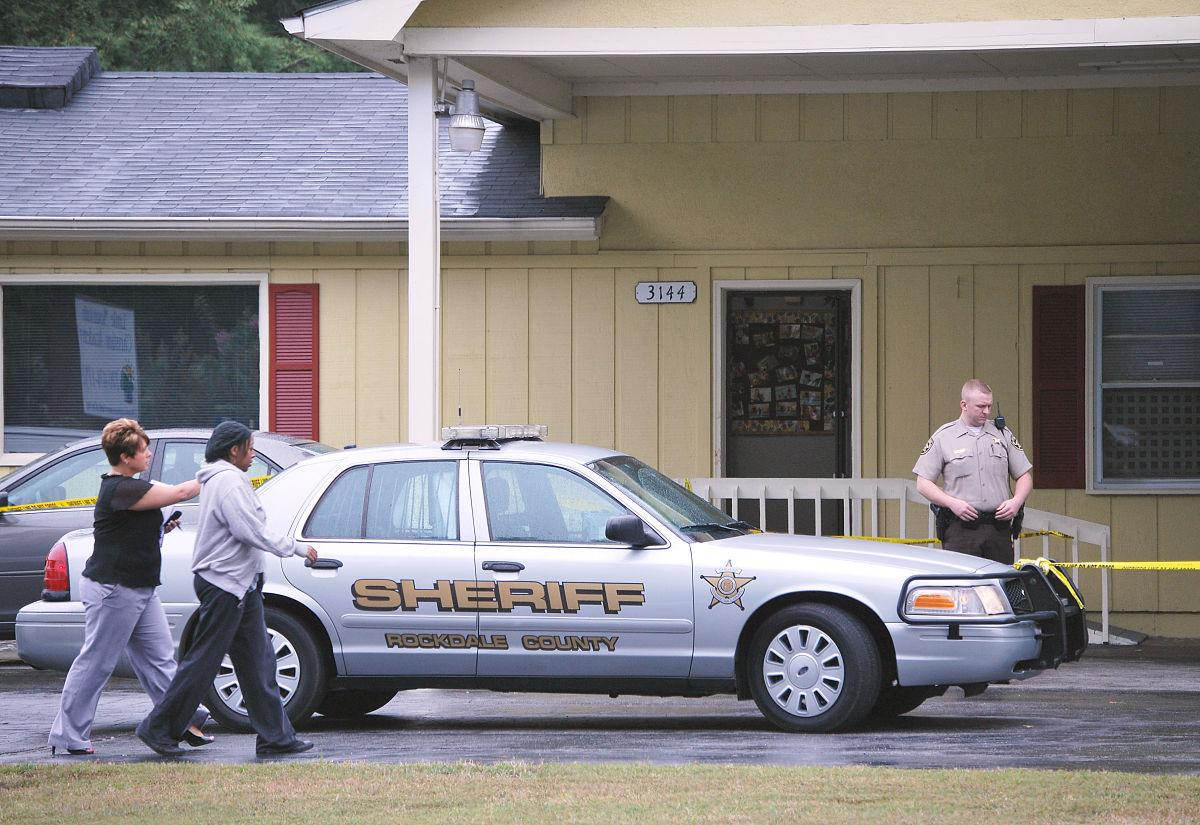 Man arrested in daycare shooting