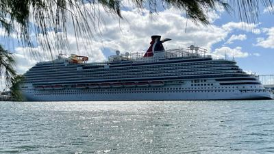 27 Covid cases reported aboard Carnival cruise ship