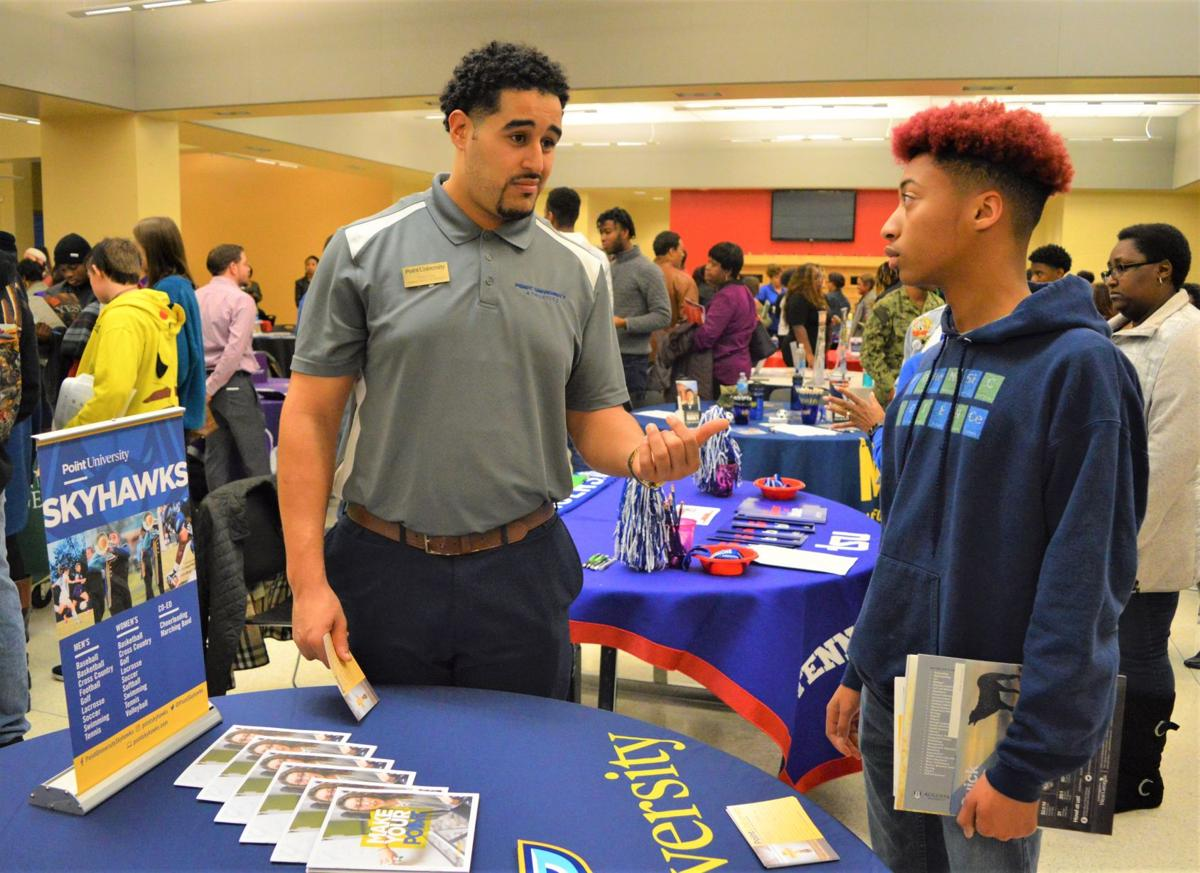 Over 300 Rockdale students attend College Fair
