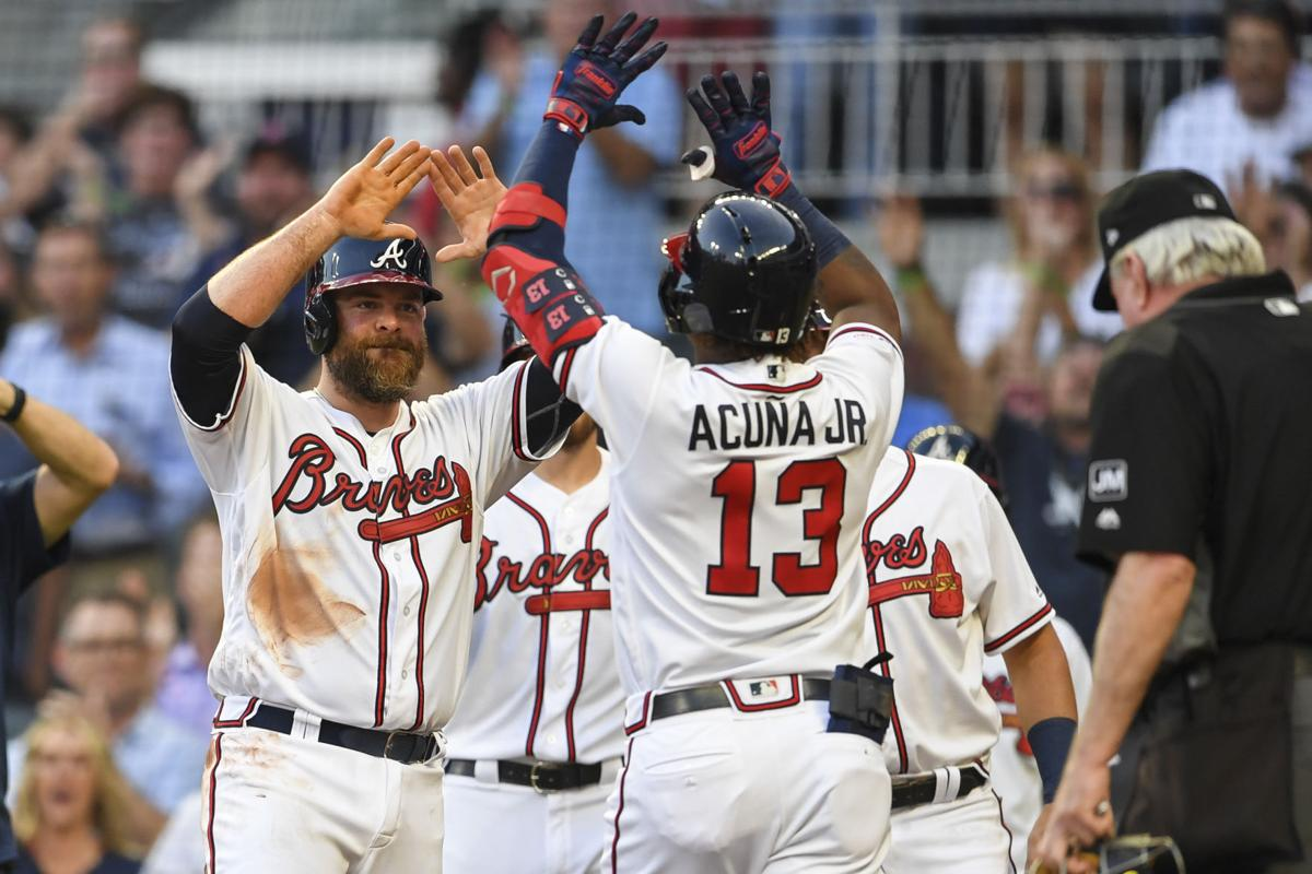 MLB: Pittsburgh Pirates at Atlanta Braves