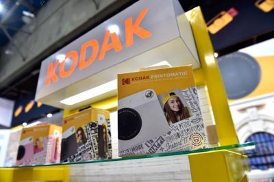 Kodak's stock soars nearly 300% and trips more than a dozen circuit breakers