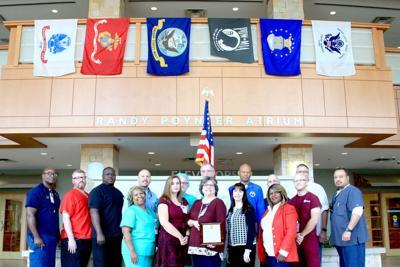 Rockdale Medical Center honors its vets