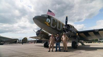 This plane flew on D-Day. Now it's back in the air