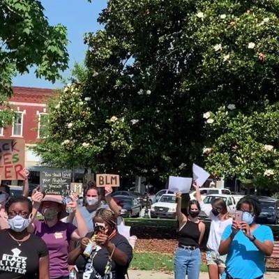 VIDEO: Protesters march in Covington following the death of George Floyd