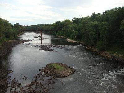 Flint River at Downtown Albany