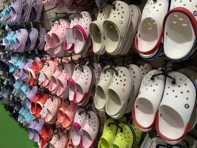 Sales of unapologetically ugly Crocs soar due to Covid