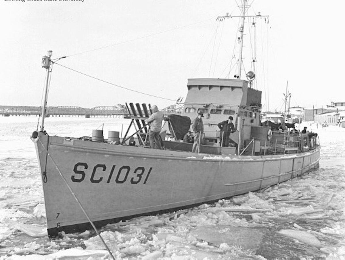 A VETERAN'S STORY: Sorting through the history of one WWII sub chaser