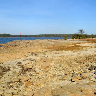 Lake Lanier 2017 drought photo