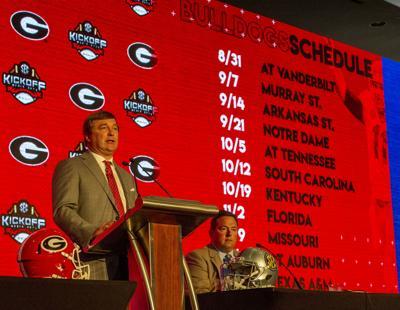 University Of Hawaii Football Schedule 2020 Georgia Bulldogs' 2020 football schedule released | Sports