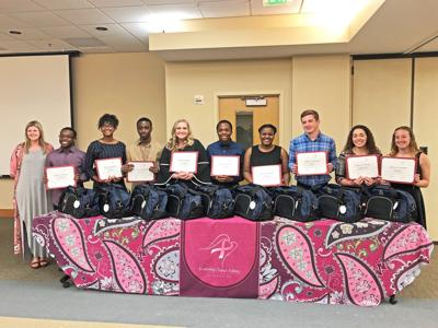 Rockdale seniors receive scholarship from Kimberley Chance Atkins Foundation