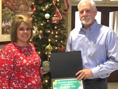 Farmers and Merchants Bank named Beautiful Business of Month