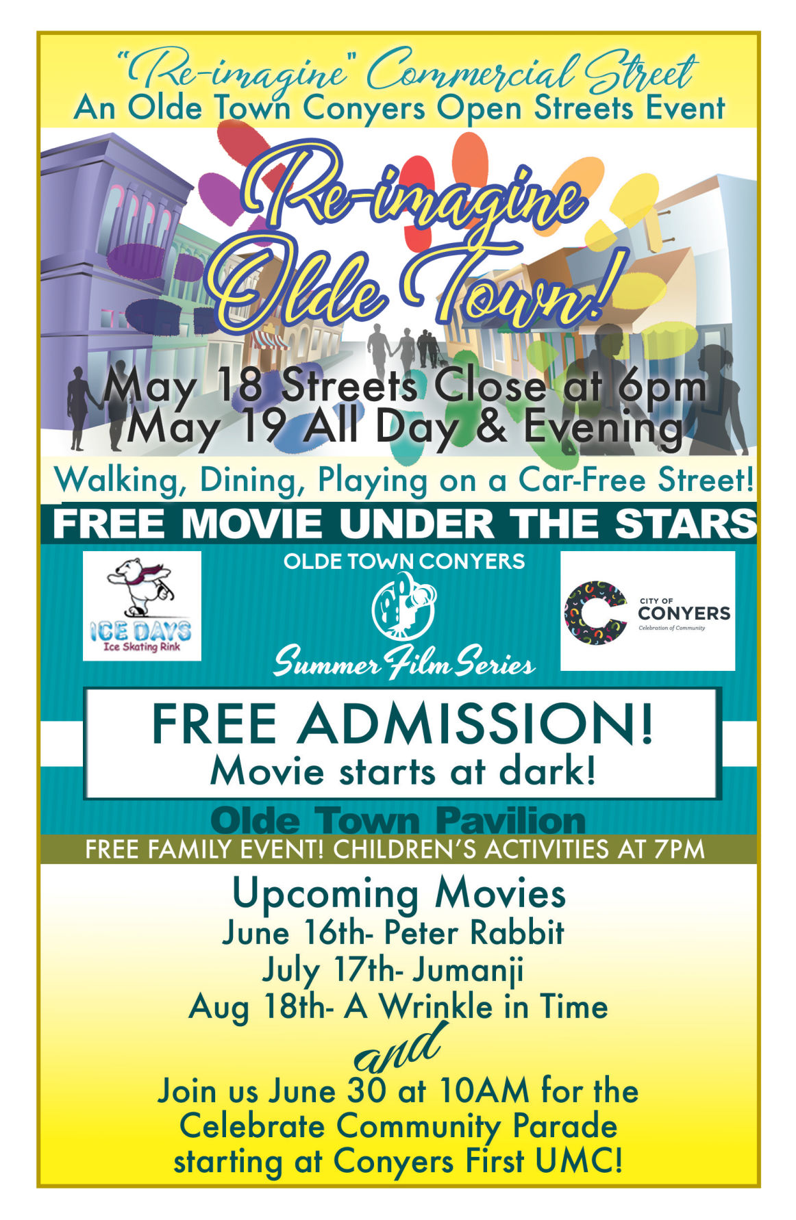 Conyers hosting first Re imagine event May 18 19