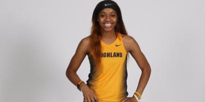 Former Rockdale County standout Wynn breaks Highland Community College 60-meter dash record