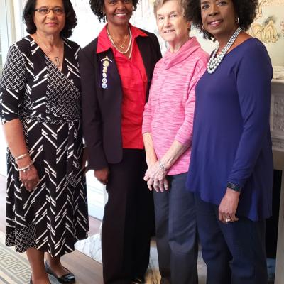 Conyers Garden Club members take part in Leading Lights Luncheon and Fashion Show